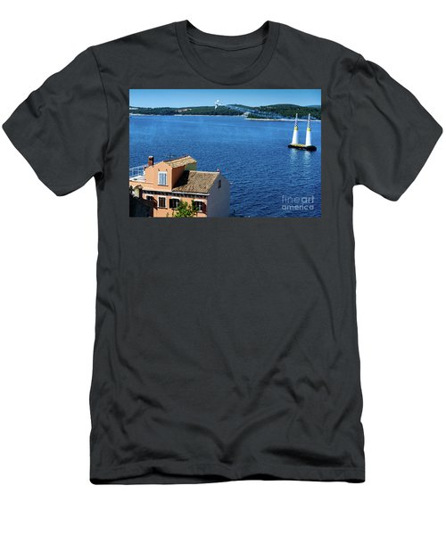 Red Bull Air Show, Rovinj, Croatia Men's T-Shirt (Athletic Fit)