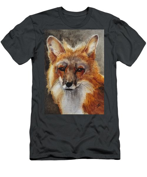 Red Fox Men's T-Shirt (Slim Fit)
