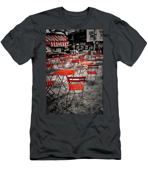 Red In My World - New York City Men's T-Shirt (Athletic Fit)