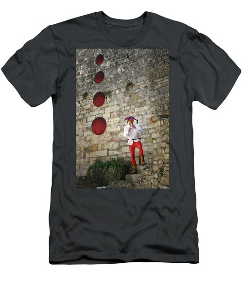 Red Piper Men's T-Shirt (Athletic Fit)