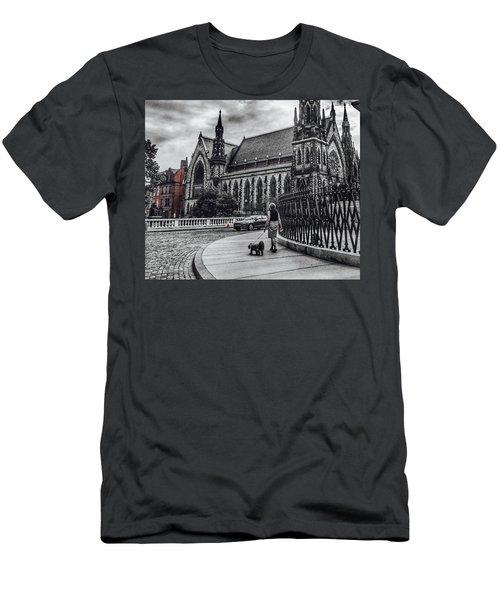 Red Pop Men's T-Shirt (Athletic Fit)