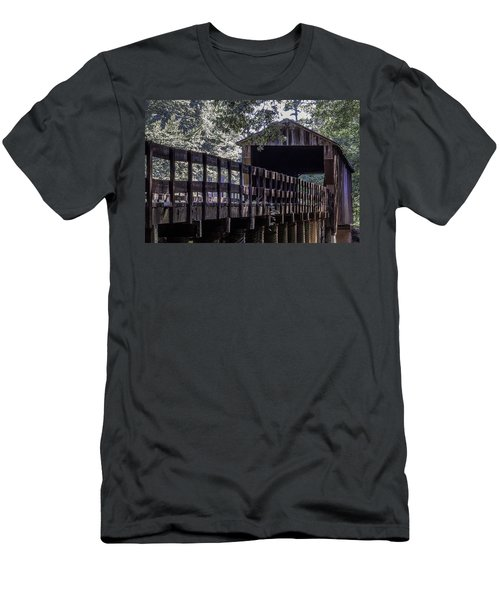Red Oak Creek Bridge Men's T-Shirt (Athletic Fit)