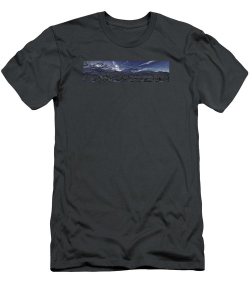 Men's T-Shirt (Athletic Fit) featuring the photograph Red Rock Canyon State Park by Ryan Smith