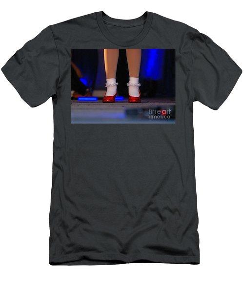Red Shoes Men's T-Shirt (Athletic Fit)