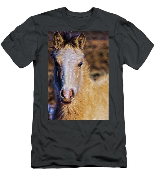 Red Willow Pony Men's T-Shirt (Athletic Fit)