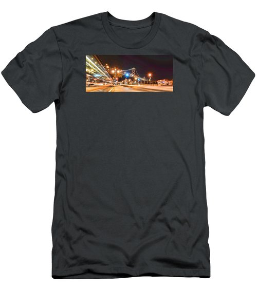 Men's T-Shirt (Slim Fit) featuring the photograph Red's Java House by Steve Siri