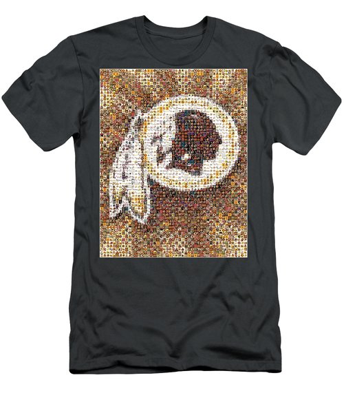 Redskins Mosaic Men's T-Shirt (Athletic Fit)