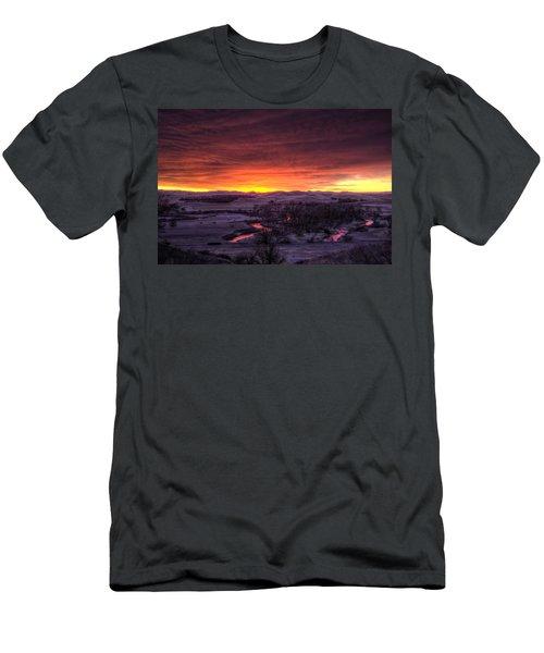 Redwater Men's T-Shirt (Slim Fit) by Fiskr Larsen