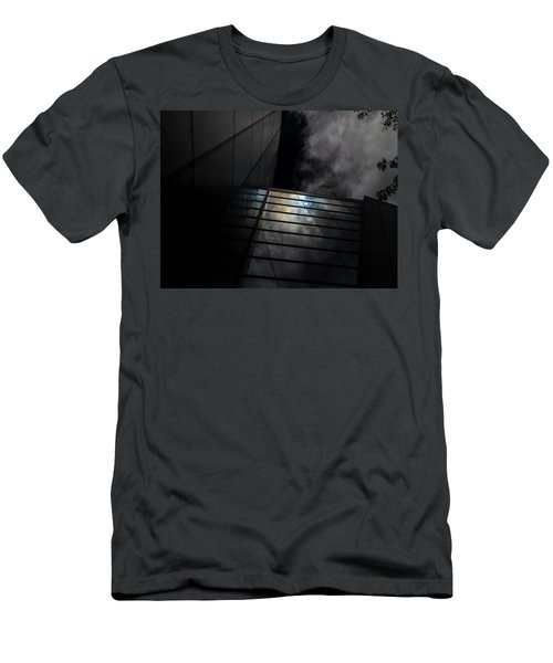 Reflected Clouds Men's T-Shirt (Athletic Fit)