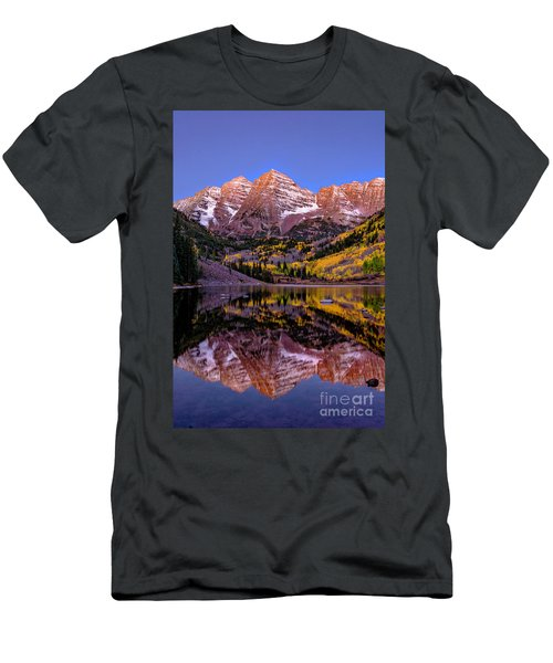 Reflecting Dawn Men's T-Shirt (Athletic Fit)