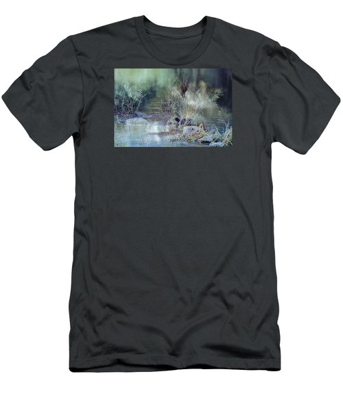Reflecting On A Misty Morning Men's T-Shirt (Athletic Fit)