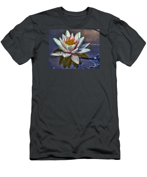 Reflecting Petals Men's T-Shirt (Athletic Fit)