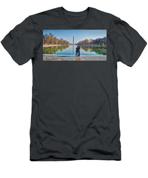 Reflecting Pool Men's T-Shirt (Athletic Fit)