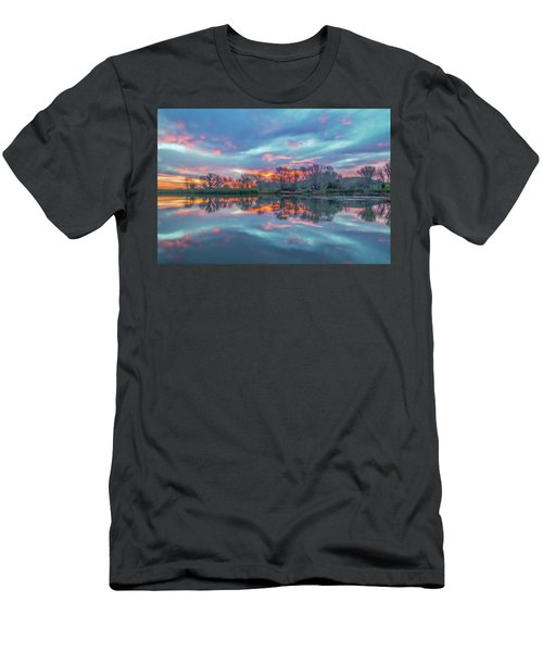 Reflection At Sunrise Men's T-Shirt (Athletic Fit)