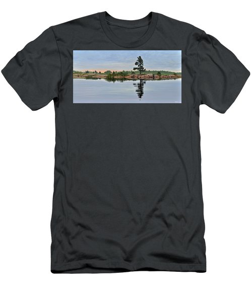 Reflection On The Bay Men's T-Shirt (Athletic Fit)