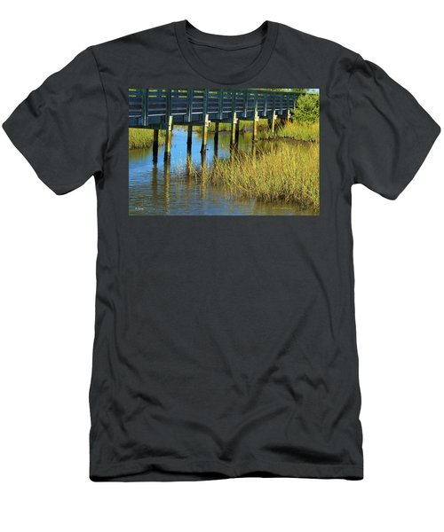 Reflections And Sea Grass Men's T-Shirt (Athletic Fit)