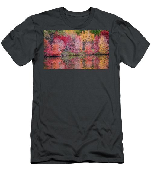 Men's T-Shirt (Athletic Fit) featuring the photograph Reflections by David Waldrop