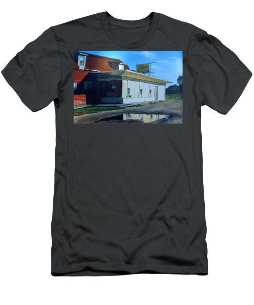 Reflections Of A Diner Men's T-Shirt (Athletic Fit)