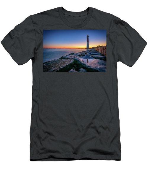 Reflections Of Barnegat Light Men's T-Shirt (Athletic Fit)