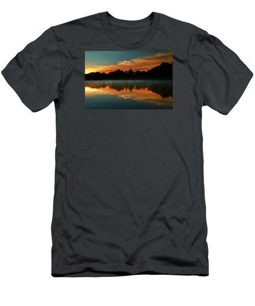 Reflections Of Beauty Men's T-Shirt (Slim Fit) by Rob Blair