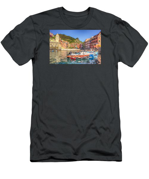 Men's T-Shirt (Slim Fit) featuring the photograph Reflections Of Italy by Brent Durken