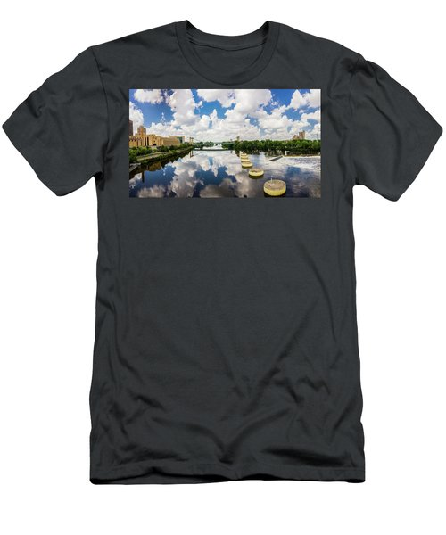 Reflections Of Minneapolis Men's T-Shirt (Athletic Fit)