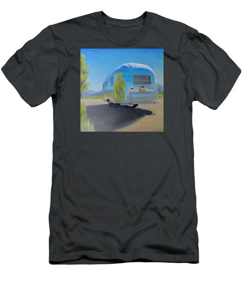 Reflections Of Mountain And Sage Men's T-Shirt (Athletic Fit)