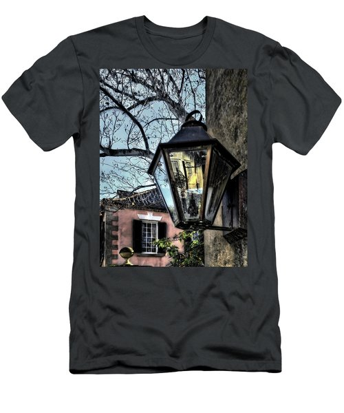 Men's T-Shirt (Slim Fit) featuring the photograph Reflections Of My Life by Jim Hill