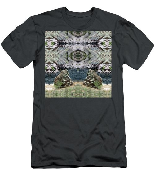Reflections Of Self Before Entering The Vortex Men's T-Shirt (Athletic Fit)