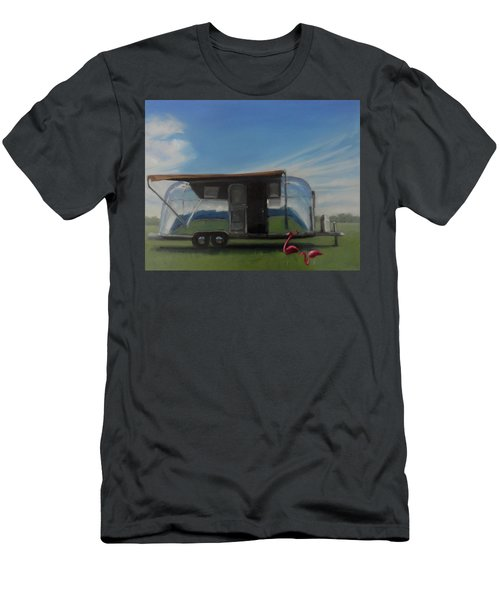 Reflections Of The Airstream Factory Men's T-Shirt (Athletic Fit)