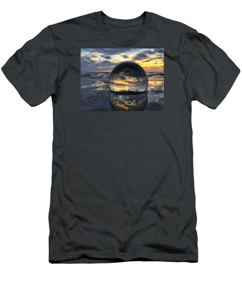 Reflections Of The Crystal Ball Men's T-Shirt (Slim Fit)
