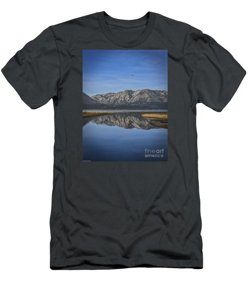 Men's T-Shirt (Slim Fit) featuring the photograph Reflections Of The Morning by Mitch Shindelbower