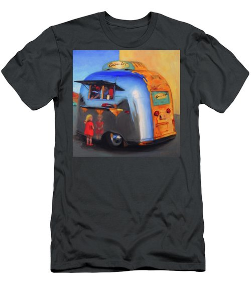 Reflections On An Airstream Men's T-Shirt (Athletic Fit)