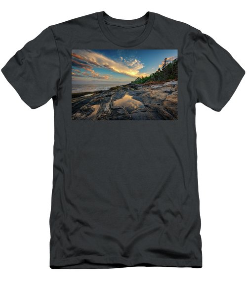 Reflections On Muscongus Bay Men's T-Shirt (Athletic Fit)