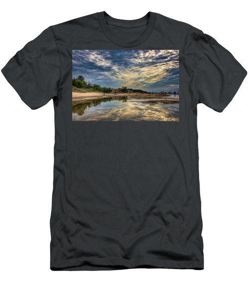 Reflections On The Beach Men's T-Shirt (Athletic Fit)