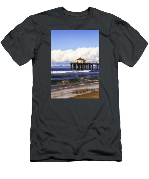 Reflections On The Pier Men's T-Shirt (Athletic Fit)