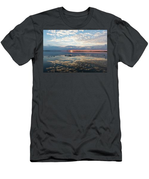 Reflections Over Back Bay Men's T-Shirt (Athletic Fit)