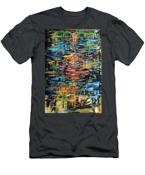 Reflections Rain Men's T-Shirt (Slim Fit)