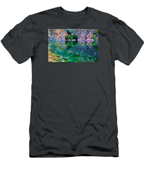 Reflective Pool Men's T-Shirt (Athletic Fit)