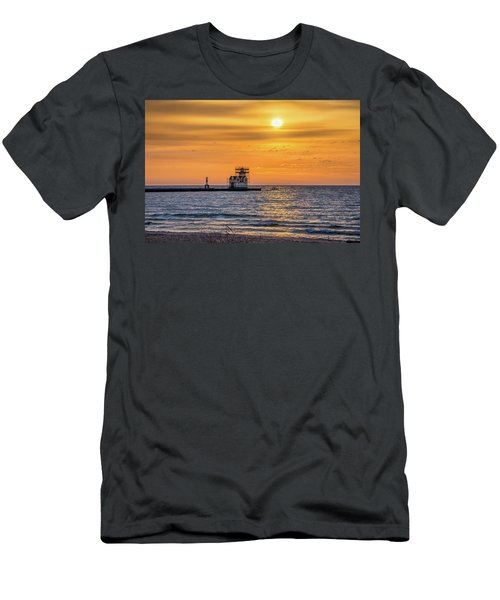 Men's T-Shirt (Athletic Fit) featuring the photograph Rehabilitation Rising by Bill Pevlor