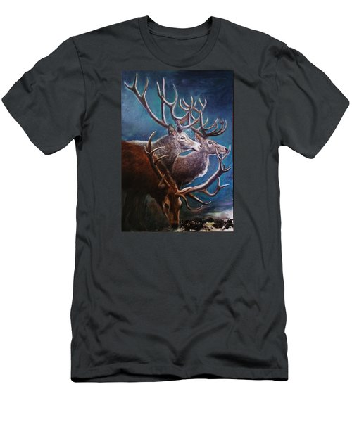 Reindeers Men's T-Shirt (Athletic Fit)