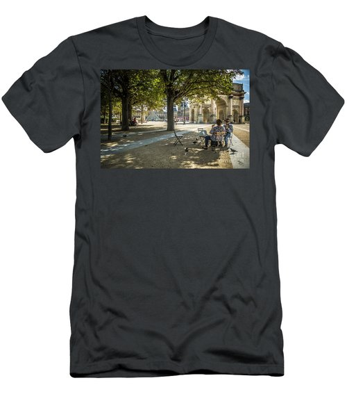 Relaxing Afternoon In Paris Men's T-Shirt (Athletic Fit)