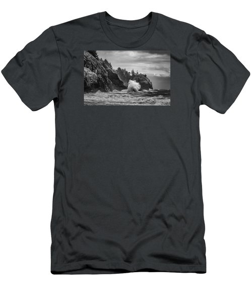 Relentless Assault Men's T-Shirt (Slim Fit) by James Heckt