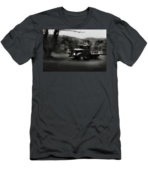 Men's T-Shirt (Slim Fit) featuring the photograph Relic Truck by Bill Wakeley