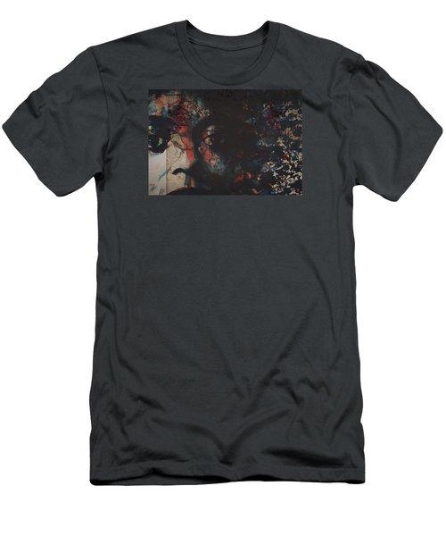Remember Me Men's T-Shirt (Slim Fit) by Paul Lovering