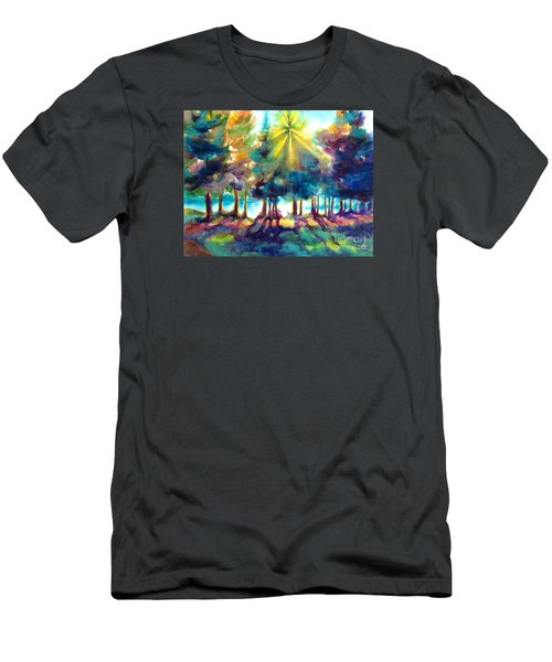 Remember The Son Men's T-Shirt (Slim Fit) by Kathy Braud