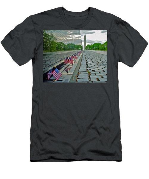 Remembrance Of Patriotism Men's T-Shirt (Athletic Fit)
