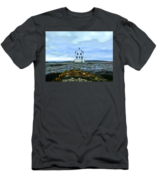 Remnants On The Rocks Men's T-Shirt (Athletic Fit)
