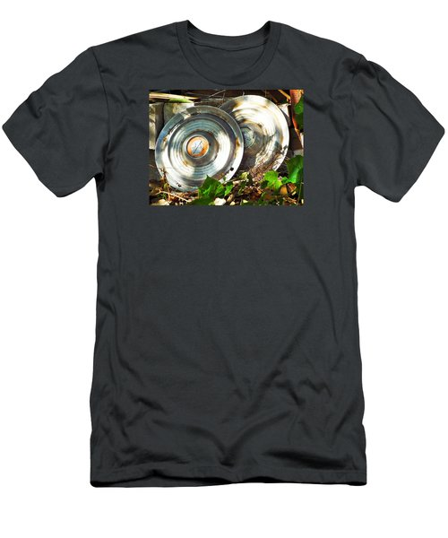 Replaced With Spinners Men's T-Shirt (Athletic Fit)