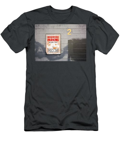 Reserved Parking Men's T-Shirt (Athletic Fit)